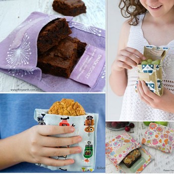 4MyEarth eco reusable Snack Pockets
