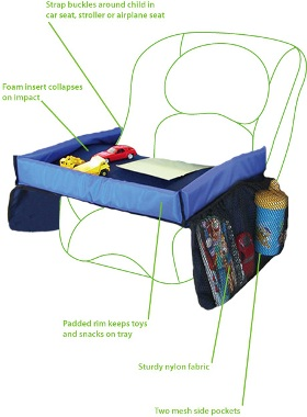 Baby & Toddler travel play tray