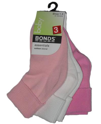 Ribbed Cuff Socks-3pr (1-3)