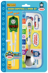 Chopsticks - Percy with case and spoon set
