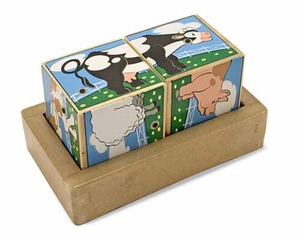 Melissa & Doug Sound Blocks - Animals