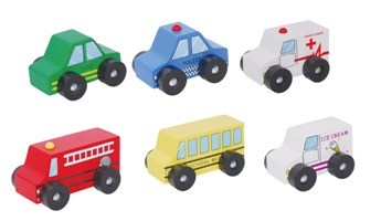 Discoveroo Wooden Vehicles Set