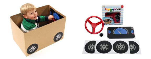 Make a car kit from Imaginabox