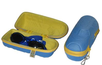 Sunglass case - Blue