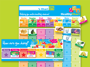 Healthy Chart - magnetic incentive chart