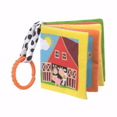 Playgro - Farm Friends soft book