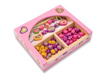Melissa & Doug Sweethearts Beads Set