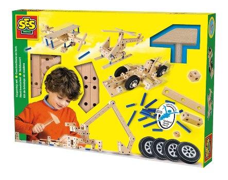 SES wooden carpentry set 14946