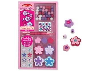 Melissa & Doug Flower Beads Set