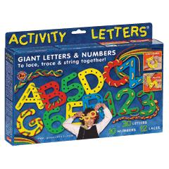 Lacing Letters & Numbers - Quercetti