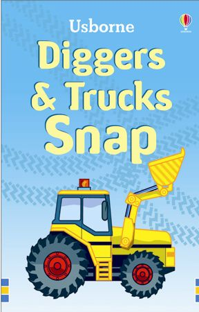 Usborne Snap cards - Trucks & Diggers
