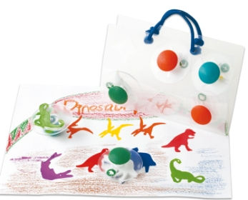 Dinosaur Stampers - Set of  6