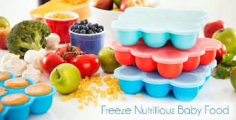 Wean Meister Baby Food freezer tray