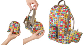 Reusable backpacks from Envirotrend