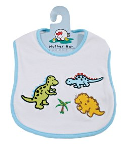 Mother Hen Dinosaur bibs