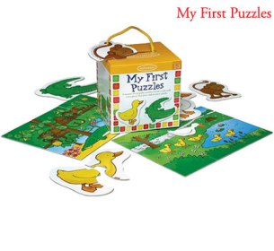 Infantino My First Puzzles 6 puzzle set