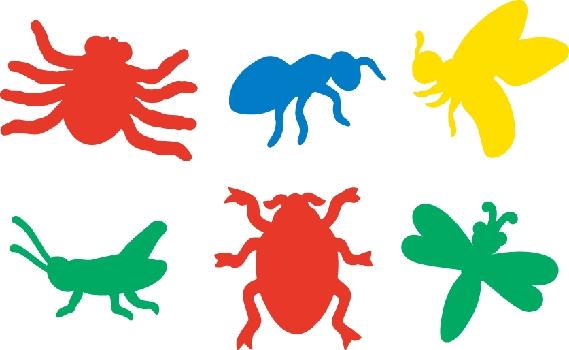 Bugs Stencils
