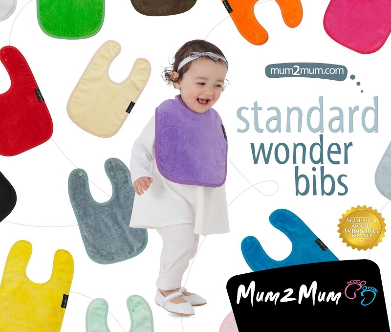 Mum2Mum Cotton Wonder Bib - standard