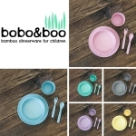 Biodegradable Bamboo tableware from Bobo and Boo