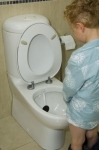 Boys toilet training aid - WeeTarget