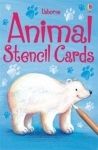 Usborne Animal Stencil Cards