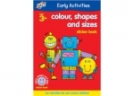 Galt Colour, Shapes & Sizes Sticker Book