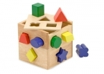 Wooden Shape Sorting toy from Melissa & Doug