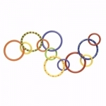 Playgro Patterned Activity Rings
