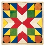 Design a tile - wooden shapes