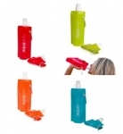 Collapsible BPA free bottle from Aquaskin