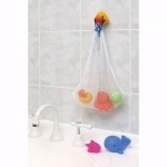 Playgro Squirtee Buddies Bath bag & toys