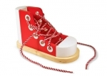 Melissa & Doug wooden Lace up shoe