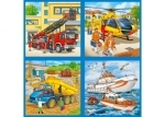 Ravensburger Vehicles in Action puzzle case