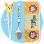 Chopsticks - Rabbit set with case & spoon