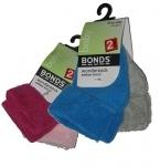 Bonds Wondersock 2 pairs (age 0-6m)