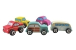 Discoveroo Wooden Beach Vehicles Set