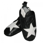White Star soft sole leather baby shoe