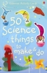 50 science activity cards - Usborne