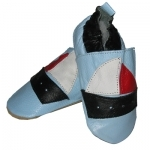 Blue Boat soft sole leather baby shoe