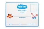 Dots - potty/toilet training stickers
