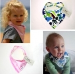 Bibi's - funky toddler dribble bibs
