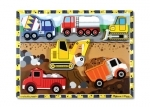Melissa & Doug - Construction Chunky wooden puzzle