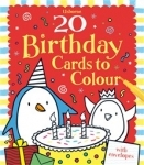 Birthday Cards to colour - 20 - Usborne