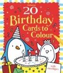 Birthday Cards to colour - 20 - Usborne