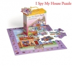 Infantino 35 piece I Spy My House puzzle