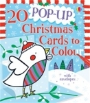 Christmas Cards to colour - 20 pop up - Usborne