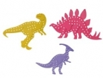 Educational Colours Lacing Shapes - Dinosaurs