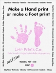 Imp Prints newborn prints paint
