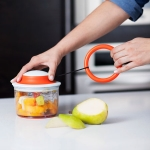 Mush - hand operated food processor