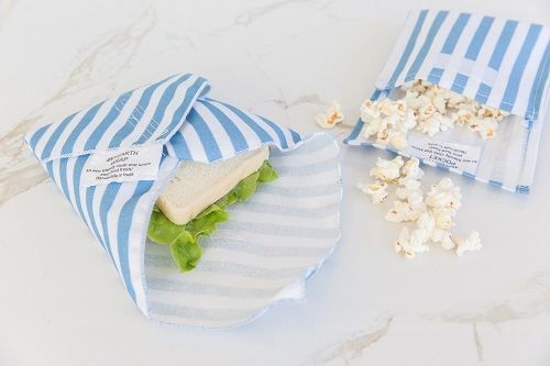4MyEarth reusable sandwich wraps & pockets